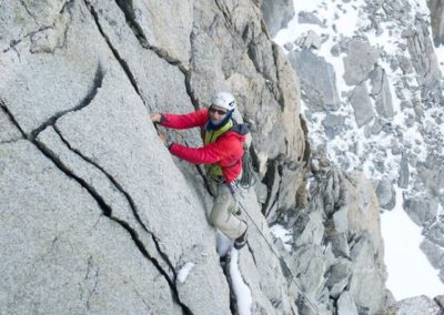 Chamonix Granite Alpine Rock Routes
