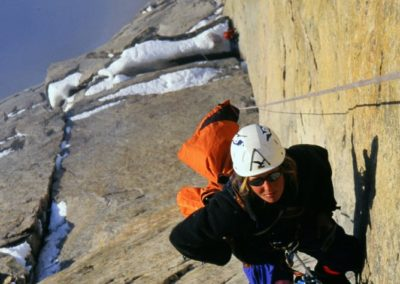 Louise Turner 'ENDLESS dAY' bAFFIN NEW ROUTE WWW.SHEERSUMMITS.COM